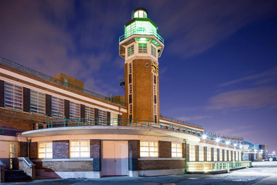 The old Liverpool airport terminal, now Crowne Plaza Hotel
