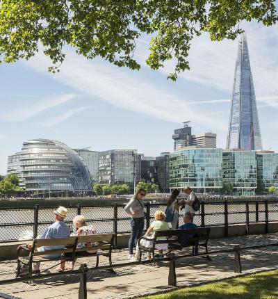 London Assembly and the Shard, London